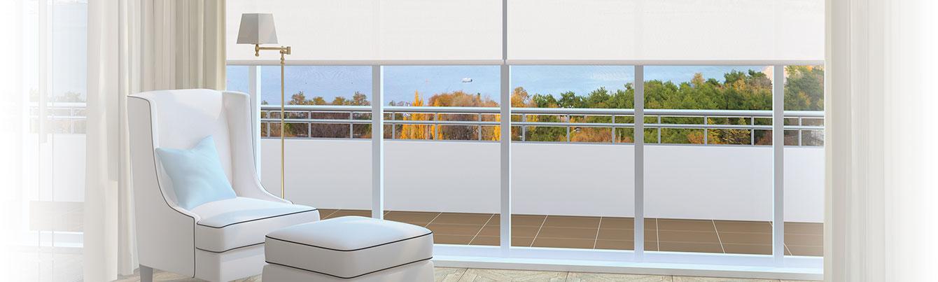 Habillage de fenêtres et stores sur mesure Cage aux stores